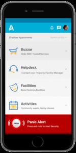 tablet based security management system