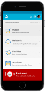 Panic Alert - ADDA, Society Security App