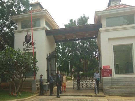 gatekeeper deployment at Prestige Oasis - Bangalore